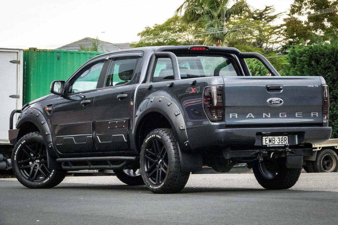 2014 Ford Ranger PX XLS. Utility Double Cab 4dr Man 6sp 4x4 1136kg 3.2DT