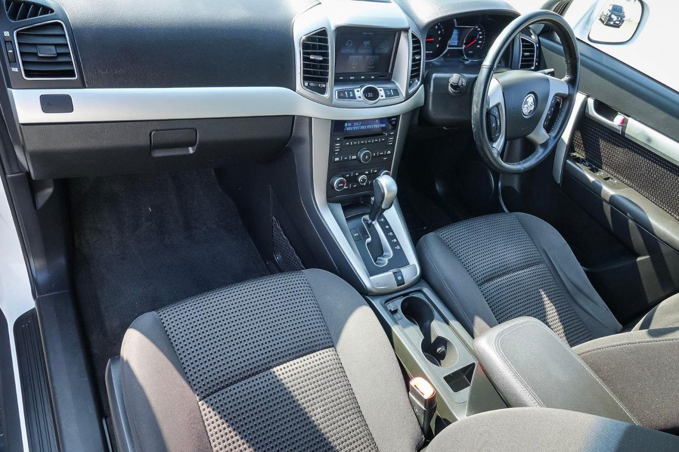 2015 Holden Captiva CG MY15 7 LS Wagon 7st 5dr Spts Auto 6sp 2.4i FWD