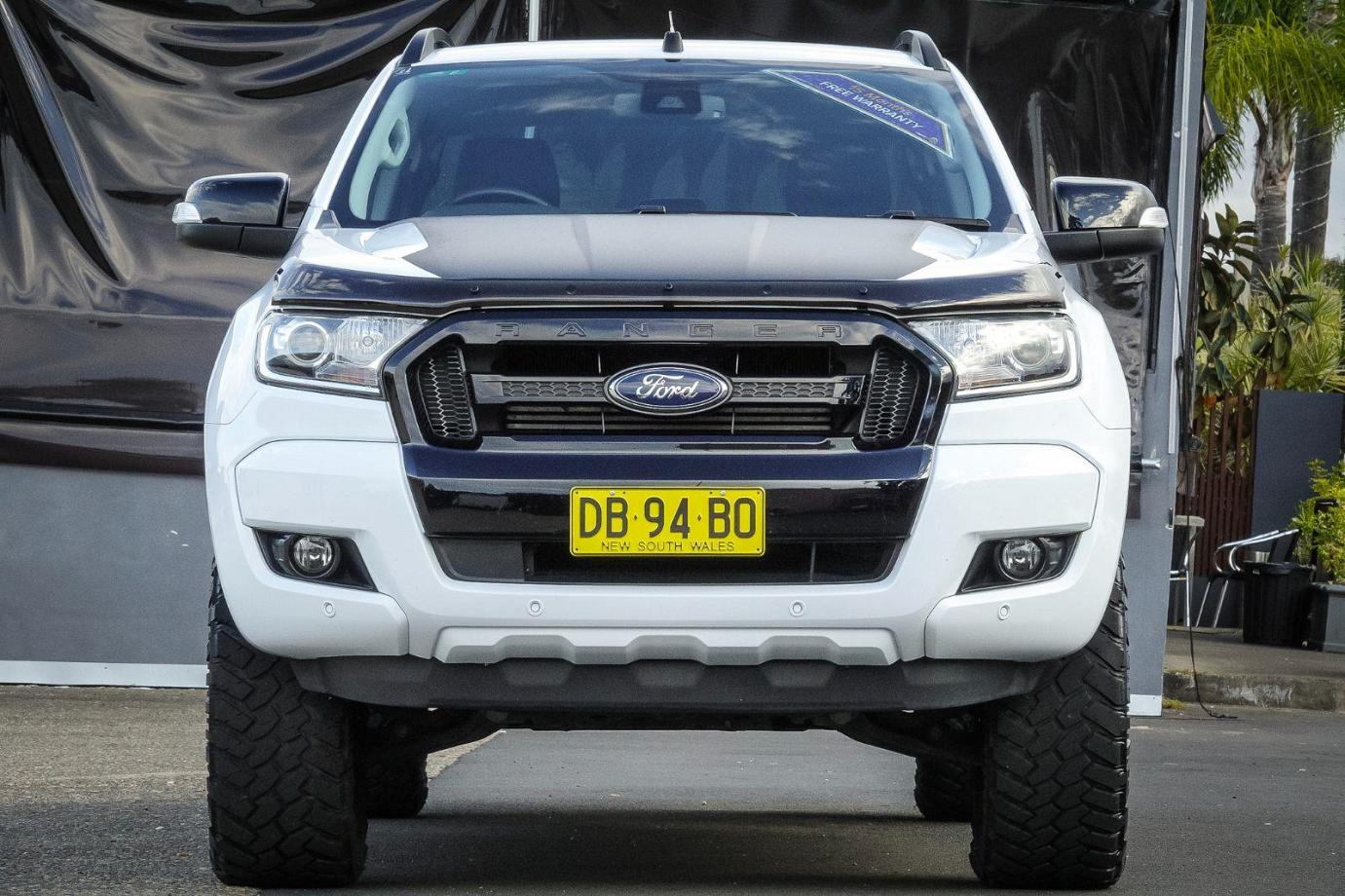 2017 Ford Ranger PX MkII MY18 FX4. Utility Double Cab 4dr Man 6sp 4x4 995kg 3.2DT