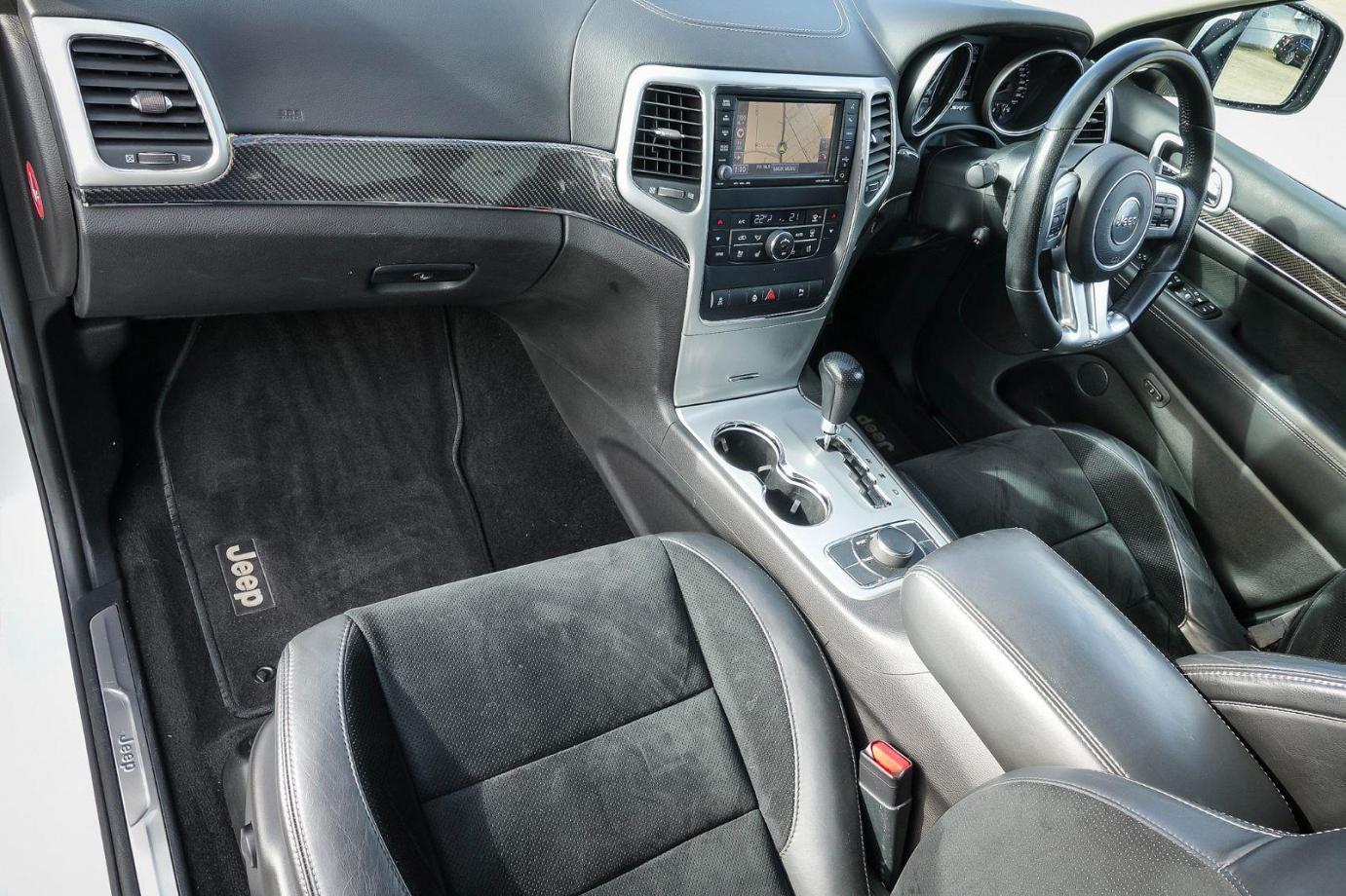 2012 Jeep Grand Cherokee WK MY13 SRT-8 Alpine Wagon 5dr Spts Auto 5sp 4x4 6.4i