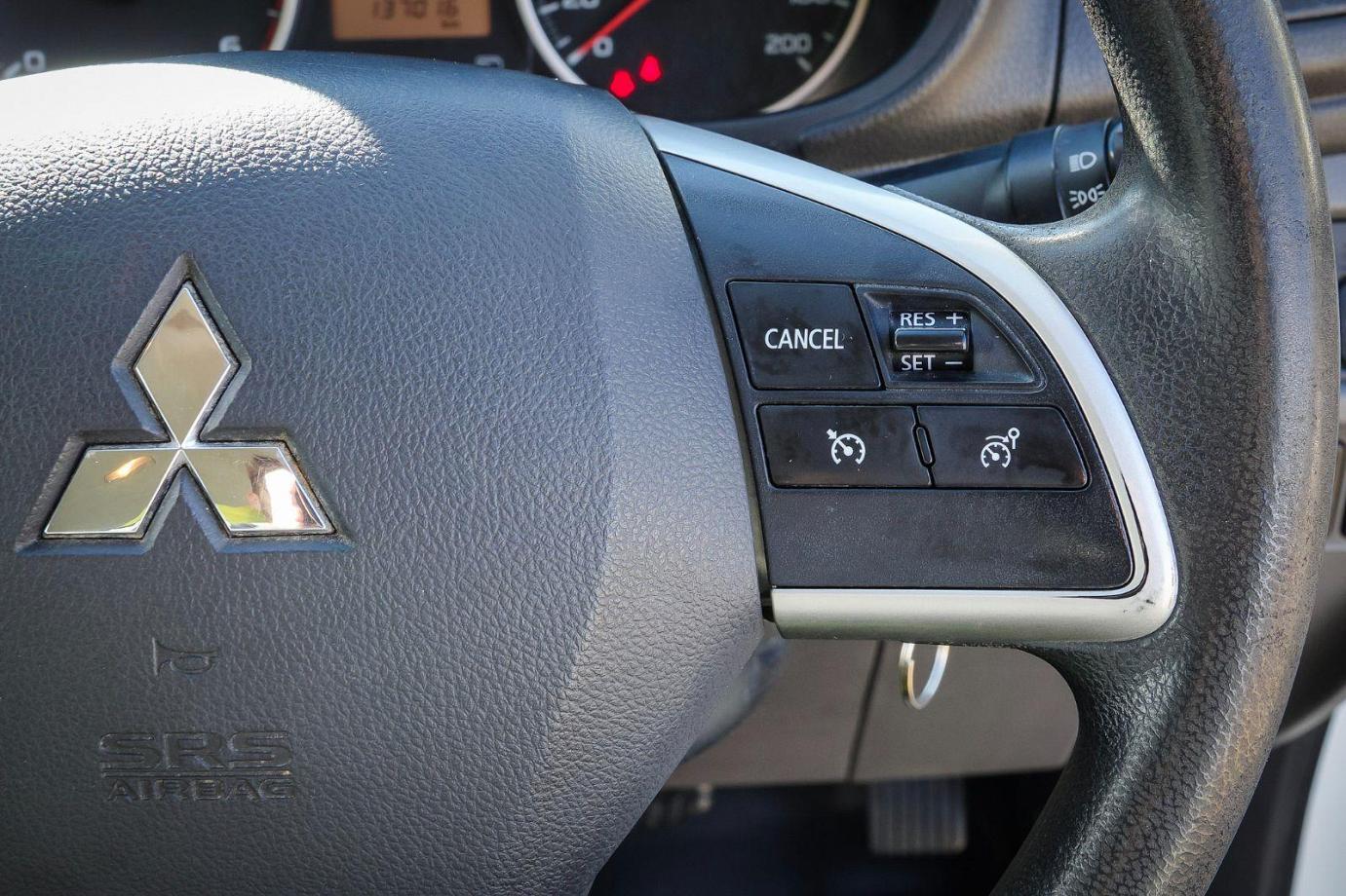 2016 Mitsubishi Triton MQ MY16 GLX+ Utility Double Cab 4dr Spts Auto 5sp 4x4 980kg 2.4DT