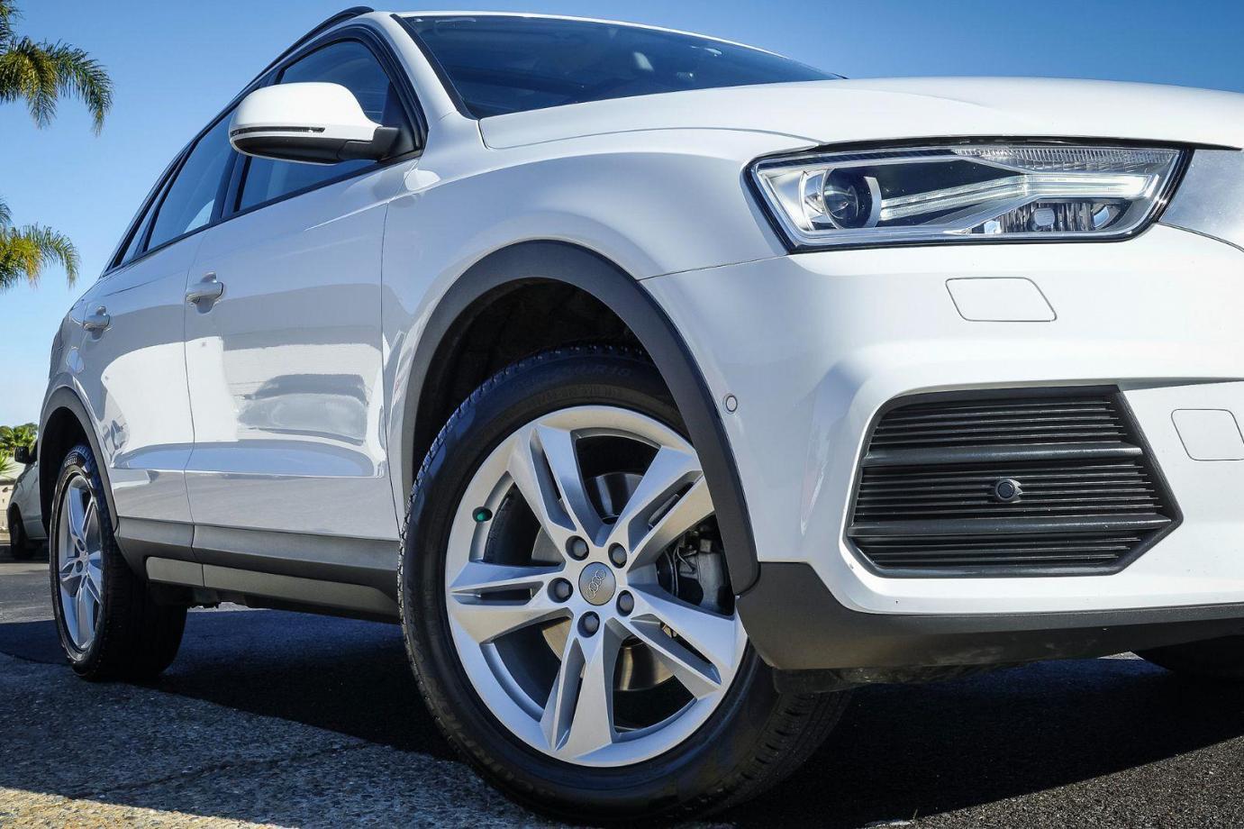 2016 Audi Q3 8U MY17 TFSI. Wagon 5dr S tronic 6sp 1.4T 110kW