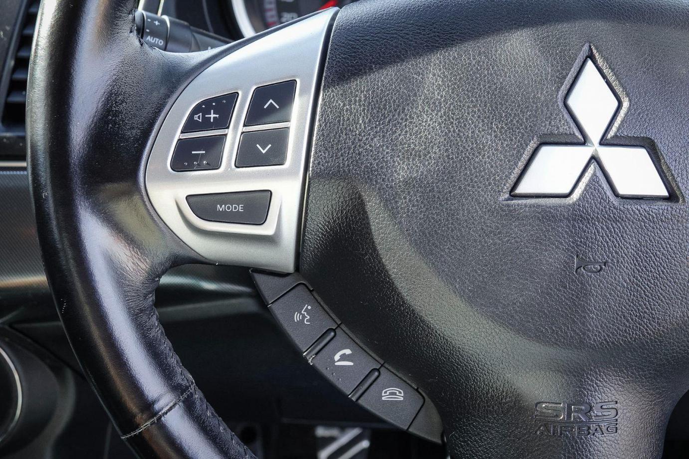 2009 Mitsubishi Lancer CJ MY09 VR-X Sedan 4dr Man 5sp 2.4i
