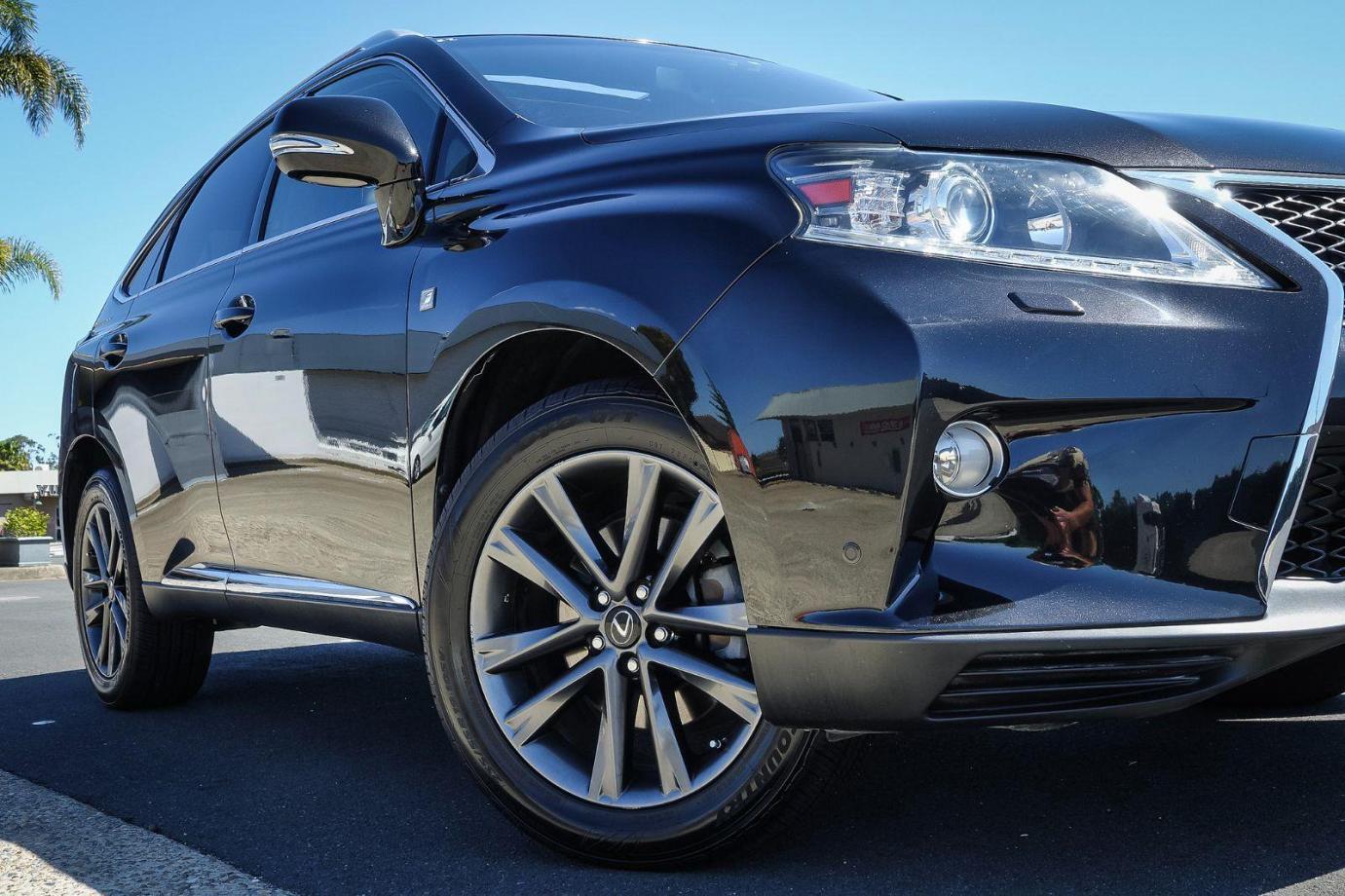 2012 Lexus RX GGL15R RX350 F Sport Wagon 5dr Spts Auto 6sp 4x4 3.5i