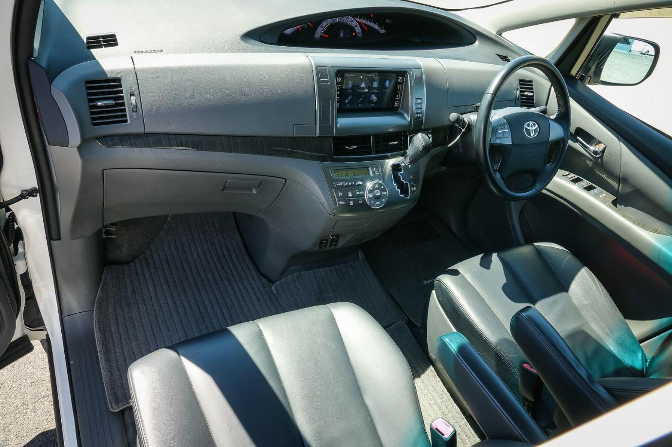 2009 Toyota Estima ACR50 Aeras Leather - Package Wagon 7st 5dr Auto 2.4i